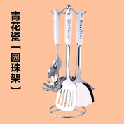 Stainless Steel Kitchenware Seven Piece Suit Spatula Household Full Set Of Cooking Utensils,L