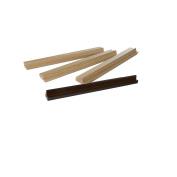 4 Hardwood Mah Jong / Mah Jongg tile racks - 35cm