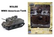 NEWRAY 1:32 CLASSIC TANK MODEL KIT - M3LEE WWII AMERICAN TANK