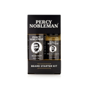 Beard Starter Kit, A Beard Oil & Beard Wash By Percy Nobleman
