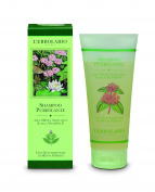 L'Erbolario Purifying Shampoo With Water Mint and Vitamin E With Essential Oil of Peppermint 200ml