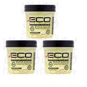 Eco Style Black Castor & Flaxseed Oil Gel, 470ml