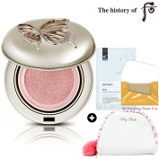Gongjinhyang Mi Cushion Blusher 15 gr/.1540ml, Pink Coral, Limited Edition, Royal Beauty Collection+ Gifts
