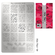 """*NEW* MOYRA STAMPING PLATE """"I FEEL YOU"""" HIGH QUALITY STAMPING PLATE"""