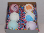 Soothing Health All Natural, Made in USA Bath Bombs 6 - 130ml