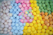 Bath Bombs 50 Pack 3. oz. Individually Wrapped Assorted Colours and Scents