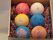 Relaxation All Natural, Made in USA Bath Bombs 6 - 130ml