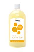 Mountain Falls Bubble Bath, Milk and Honey, 32 Fluid Ounce