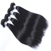 MeiRun 7A 4 Bundles Straight Hair Virgin Brazilian Hair Unprocessed Human Hair 8-70cm Natural Black