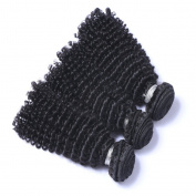 MeiRun 7A Afro Kinky Curly Hair Brazilian Hair Weave Bundles 3 Bundles Human Hair 8-70cm Natural Black