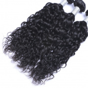 MeiRun Kinky Curly Human Hair Extensions 7A Brazilian Virgin Hair 3 Bundles 8-70cm Natural Black