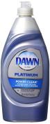 Dawn Platinum Power Clean Dishwashing Liquid, Refreshing Rain, 18 Fluid Ounce