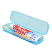 OUNONA Portable Toothbrush Case Breathable Toothpaste Plastic Storage Box Large-sized Toothbrush Case