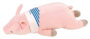 LivHeart Premium Nemu Nemu Animals Cool Body Pilow Size M Pinky The Pig 48452-21 from Japan