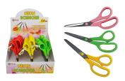 Diamond Visions 04-1120 22cm Multi Purpose Neon Handle Scissors Multipack