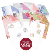 Hunkydory Filigree Frames Floral Watercolours Inserts & Papers for Cards