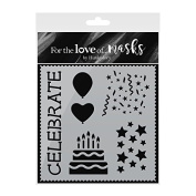 Hunkydory Crafts For the Love of Masks - Birthday Balloons - FTLM194
