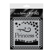 Hunkydory Crafts For the Love of Masks - Pretty Princess - FTLM199