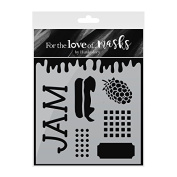 Hunkydory Crafts For the Love of Masks - Jam-Packed with Love - FTLM198