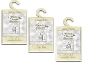 Pack of 3 Large Scented Sachets with Hanger, Angels Charm