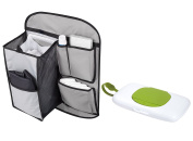 Summer Infant Tidy Travels Backseat Organiser & Change Pad with On the Go Wipes Case