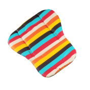 EITC Stroller Cushion Cotton Pad Pram Padding Car Seat Pad Rainbow Thick Mat