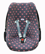 MAXI-COSI COVER LINER Fluor Heart for PEBBLE and BEBE CONFORT by Janabebe