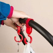 Multi Purpose Hooks-Hanger for Baby Nappy Bags, Groceries, Clothing
