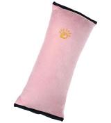 Homespun Children Safety Strap Car Seat Belts Pink 28 X 9 X 12 Cm Pillow Shoulder Protection Cushion Soft Material Belt Around Car Accessories