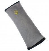 Homespun Children Safety Strap Car Seat Belts Grey 28 X 9 X 12 Cm Pillow Shoulder Protection Cushion Soft Material Belt Around Car Accessories