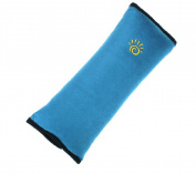 Homespun Children Safety Strap Car Seat Belts Blue 28 X 9 X 12 Cm Pillow Shoulder Protection Cushion Soft Material Belt Around Car Accessories