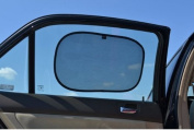 Little Noah Cling Car Sunshade for Baby - UV protection - protects against harmful UV rays - 100% Satisfaction Guaranteed - Mom & Baby Approved