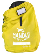 Love Baby Gear Ballistic Nylon Car Seat Travel Bag - Yellow