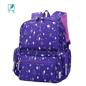 MLF-Baby Nappy Nappy Changing Bag Large size multi-pocket waterproof backpack,Dark Purple