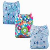 Mumsbest Nappies Baby Pocket Washable Cloth Nappy With Insert