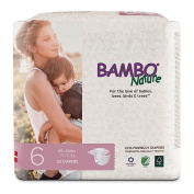 Bambo Nature Premium Baby Nappies, Size 6, 22 Count