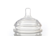 Silicone Nipple- Slow, Medium, Fast, Variable for LUX Baby Bottle (2-Pack)