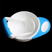 Kocome Baby Infant Learn Dishes Grinding Bowl Kids Handmade Grinding Food Mill