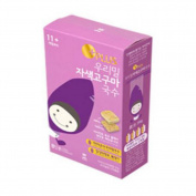 "11cm Our Wheat Baby ""Purple Sweet Potato"" Noodles (8 Servings), 296g, 0.65 lb / Baby Food / KOREA Baby Food / Baby Snacks / Healthy Food / Children, Kids, Baby Food / Noodles / Fast Cooking / MGS No."