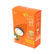 11cm Our Wheat Baby Carrot Noodles (8 Servings), 296g, 0.65 lb / Baby Food / KOREA Baby Food / Baby Snacks / Healthy Food / Children, Kids, Baby Food / Noodles / Fast Cooking / MGS No.