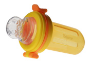 Yellow, 30ML Large Baby Food Container with Snap Lock