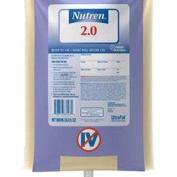Nestle healthcare nutrition inc UltraPak Nutren Calorically Dense Liquid Nutrition 1000mL Bag Part No. 9342060052.5ly 1 Each