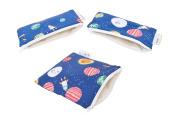 Itzy Ritzy Snack & Mini Snack Happens Reusable Bag Bundle