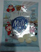 Sweetened flavoured milk tablet