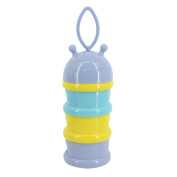 Multifit Portable Baby Food Container Non-Spill Milk Powder Dispenser Snack Bottle