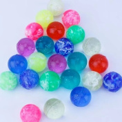 Baby 25 mm DIA Bouncing Balls ¨CPack of 48 Neon Party Favours; Colourful Bouncy Balls for Kids Playtime, Party Favours, Prizes, Birthdays & More