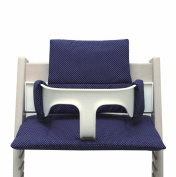 Blausberg Baby - Cushion Set for Tripp Trapp High Chair of Stokke - Blue Dots