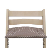 Blausberg Baby - Cushion for Tripp Trapp High Chair of Stokke - Taupe Stars