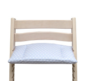 Blausberg Baby - Cushion for Tripp Trapp High Chair of Stokke - Grey Star