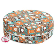 Zicac Baby Toddler Portable Round Dining Chair Booster Seat High Chair Booster Cushion
